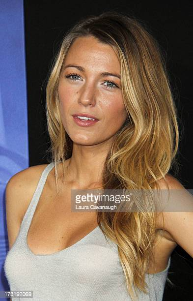 Blake Lively attends the 'Turbo' premiere at AMC Loews Lincoln Square on July 9 2013 in New York City