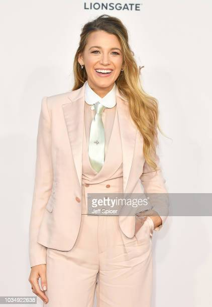 Blake Lively attends the UK premiere of 'A Simple Favour' at the BFI Southbank on September 17 2018 in London England