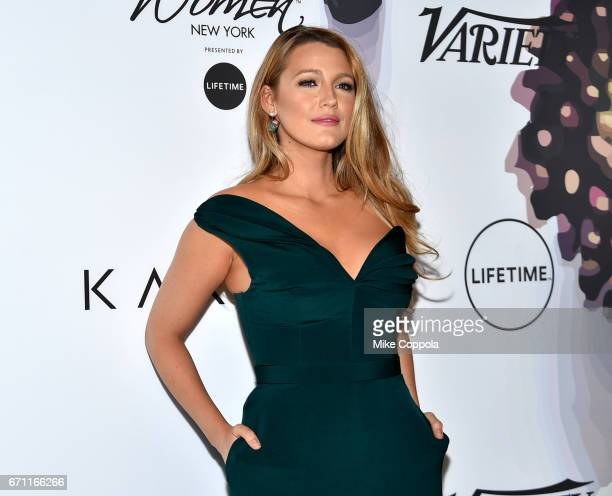 Blake Lively attends Variety's Power Of Women New York at Cipriani Midtown on April 21 2017 in New York City