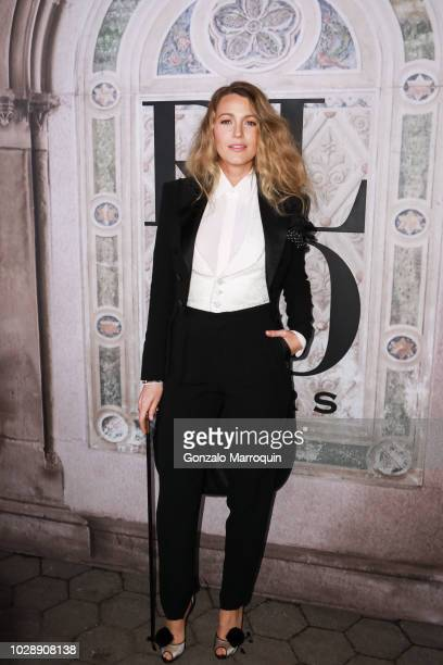 Blake Lively during the Ralph Lauren 50th Anniversary September 2018 New York Fashion Week at Bethesda Terrace on September 7 2018 in New York City