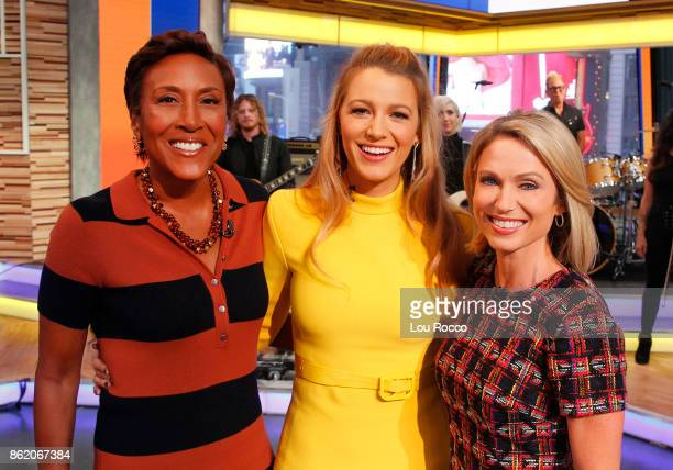 """Blake Lively is a guest on """"Good Morning America,"""" Monday, October 16 airing on the Walt Disney Television via Getty Images Television Network. ROBIN..."""