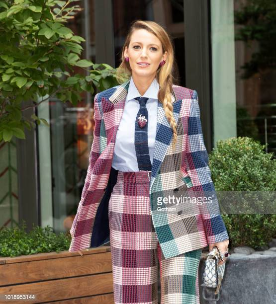 Blake Lively on August 18 2018 in New York City