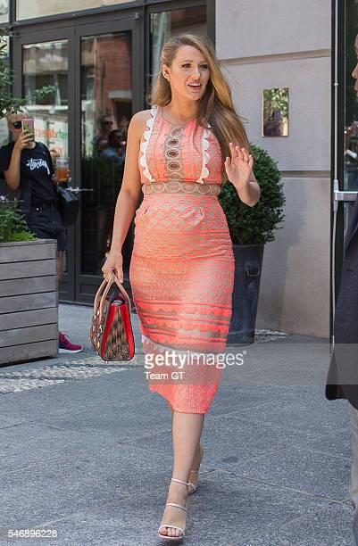 Blake Lively on July 12 2016 in New York City