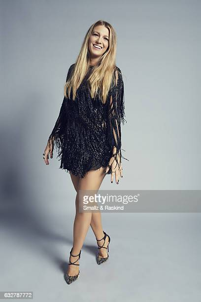 Blake Lively poses for a portrait at the 2017 People's Choice Awards at the Microsoft Theater on January 18 2017 in Los Angeles California