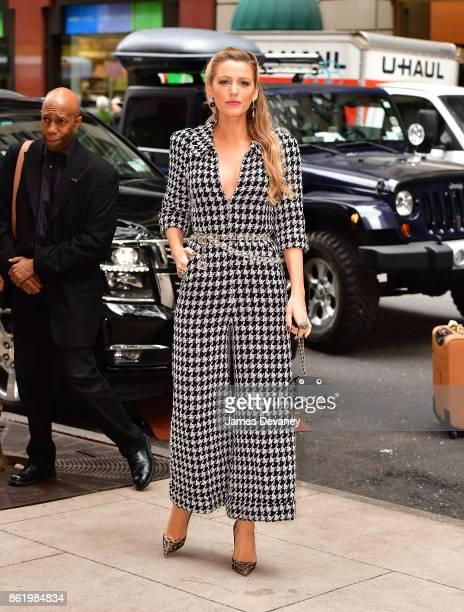 Blake Lively seen in Manhattan on October 16 2017 in New York City