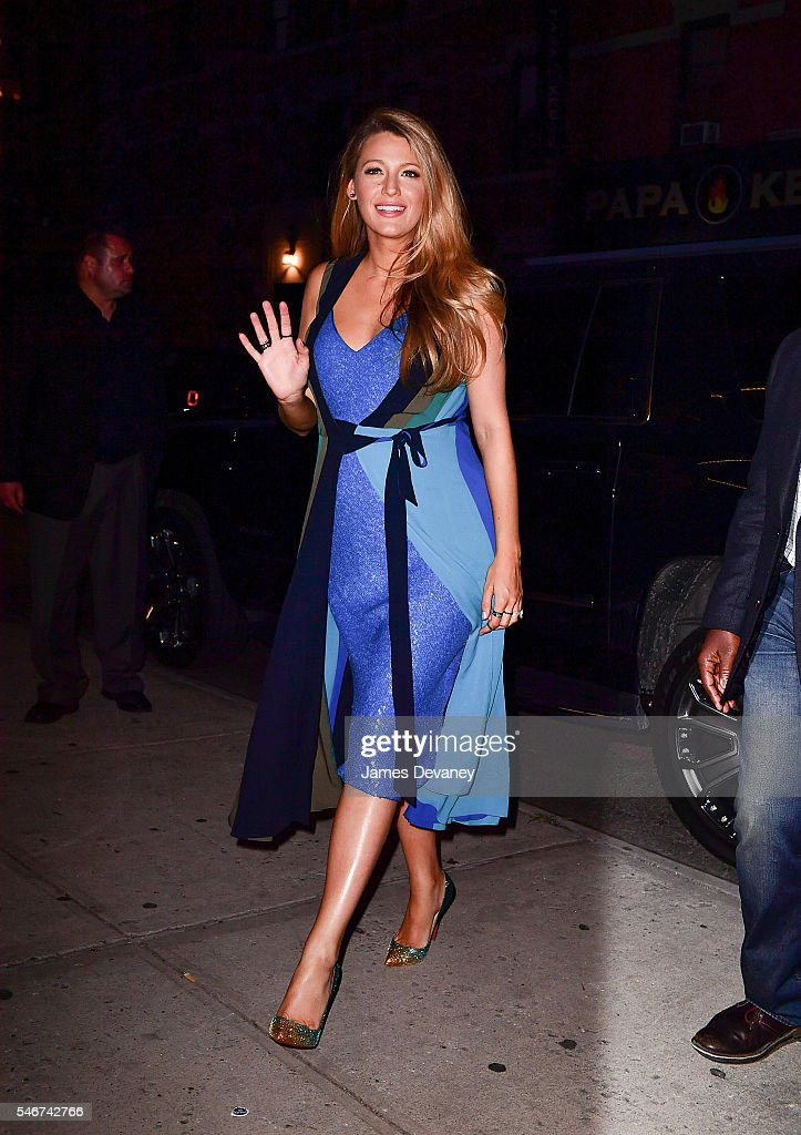 Celebrity Sightings in New York City - July 12, 2016 : News Photo