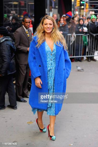 Blake Lively seen out and about in Manhattan on January 28, 2020 in New York City.