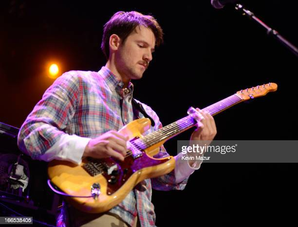 Blake Mills performs on stage during the 2013 Crossroads Guitar Festival at Madison Square Garden on April 13 2013 in New York City