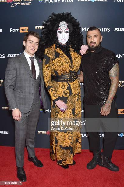 Blake Mitchell Sister Roma and Boomer Banks attends Gay Porn's Biggest Night Str8UpGayPorn Awards Hosted By Kathy Griffin at Avalon Theater on...