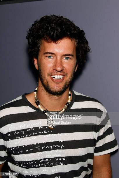 d62ae0f1e63 Blake Mycoskie poses at the Hanson and TOMS Shoes ready Show Drop Trip to  Aid Children