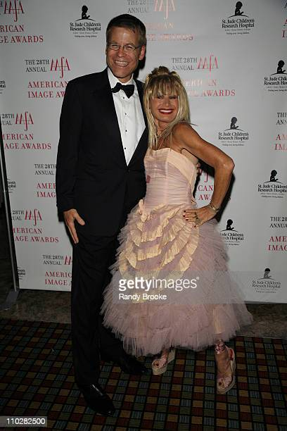 Blake Nordstrom and Betsey Johnson during 28th Annual American Image Awards - Arrivals at Hyatt in New York City, New York, United States.