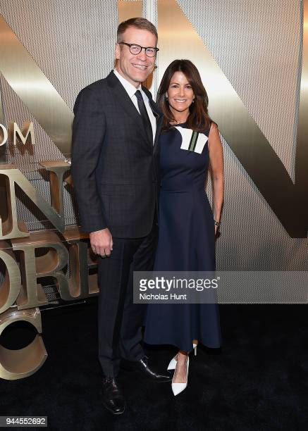 Blake Nordstrom and Molly Nordstrom attend the Nordstrom Men's NYC Store Opening on April 10 2018 in New York City