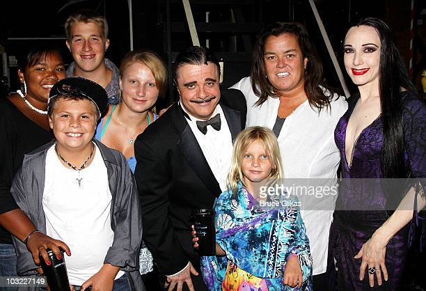 COVERAGE*** Blake O'Donnell Parker O'Donnell Chelsea O'Donnell Nathan Lane as Gomez Addams Vivian O'Donnell Rosie O'Donnell and Bebe Neuwirth as...