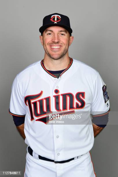 Blake Parker of the Minnesota Twins poses during Photo Day on Friday February 22 2019 at CenturyLink Sports Complex in Fort Myers Florida