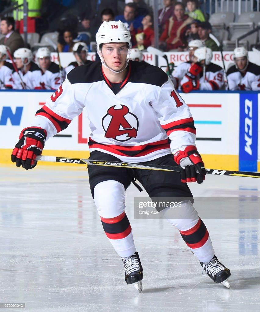 Albany Devils v Toronto Marlies : ニュース写真