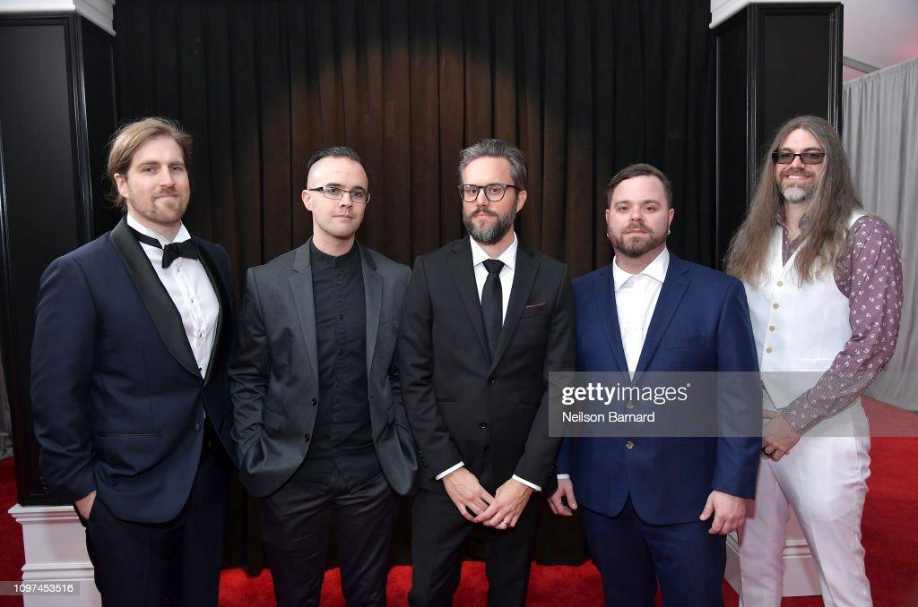 61st Annual GRAMMY Awards - Red Carpet : News Photo