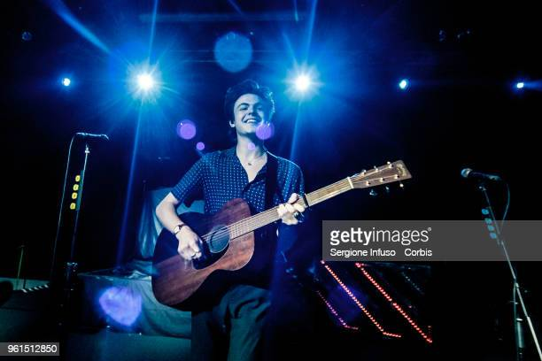 Blake Richardson of New Hope Club opens for The Vamps at Alcatraz on May 22 2018 in Milan Italy