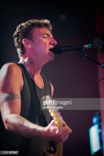 Blake Schwarzenbach of Jawbreaker performs live on stage during a concert at Astra on May 4, 2019 in Berlin, Germany.