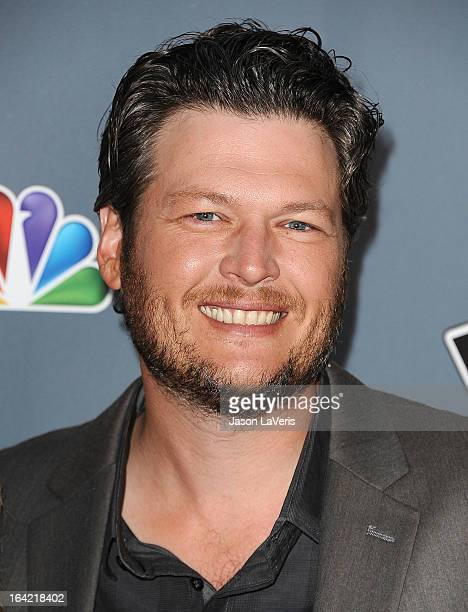 Blake Shelton attends NBC's 'The Voice' season 4 premiere at TCL Chinese Theatre on March 20 2013 in Hollywood California