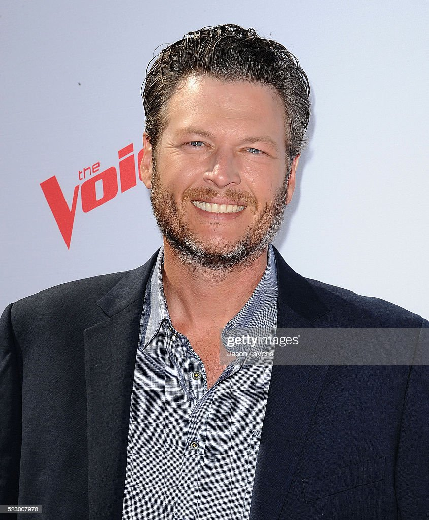 Blake Shelton attends 'The Voice' Karaoke For Charity at HYDE Sunset: Kitchen + Cocktails on April 21, 2016 in West Hollywood, California.