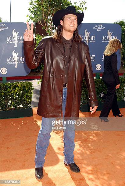 Blake Shelton during 38th Annual Academy of Country Music Awards - Arrivals at Mandalay Bay Events Center in Las Vegas, Nevada, United States.