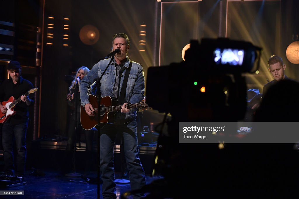 "Blake Shelton Visits ""The Tonight Show Starring Jimmy Fallon"""