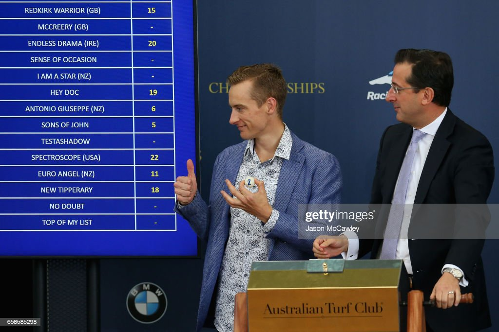 The Championships Day 1 Barrier Draw