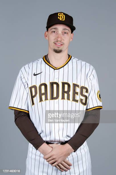 Blake Snell of the San Diego Padres poses during Photo Day on Wednesday, February 24, 2021 at the Peoria Sports Complex in Peoria, Arizona.
