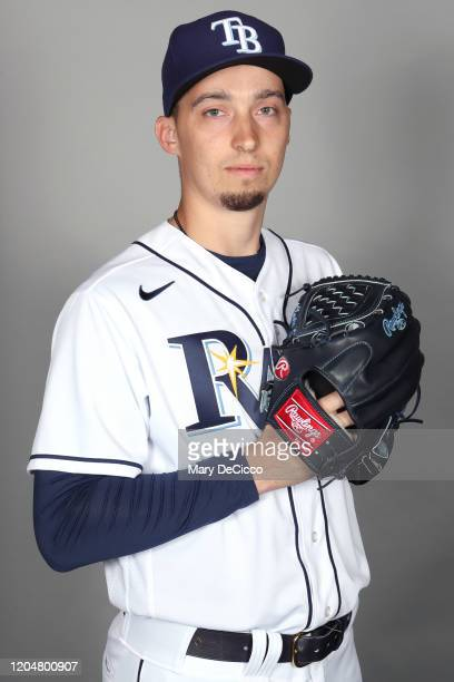 Blake Snell of the Tampa Bay Rays poses during Photo Day on Monday, February 17, 2020 at Charlotte Sports Park in Port Charlotte, Florida.
