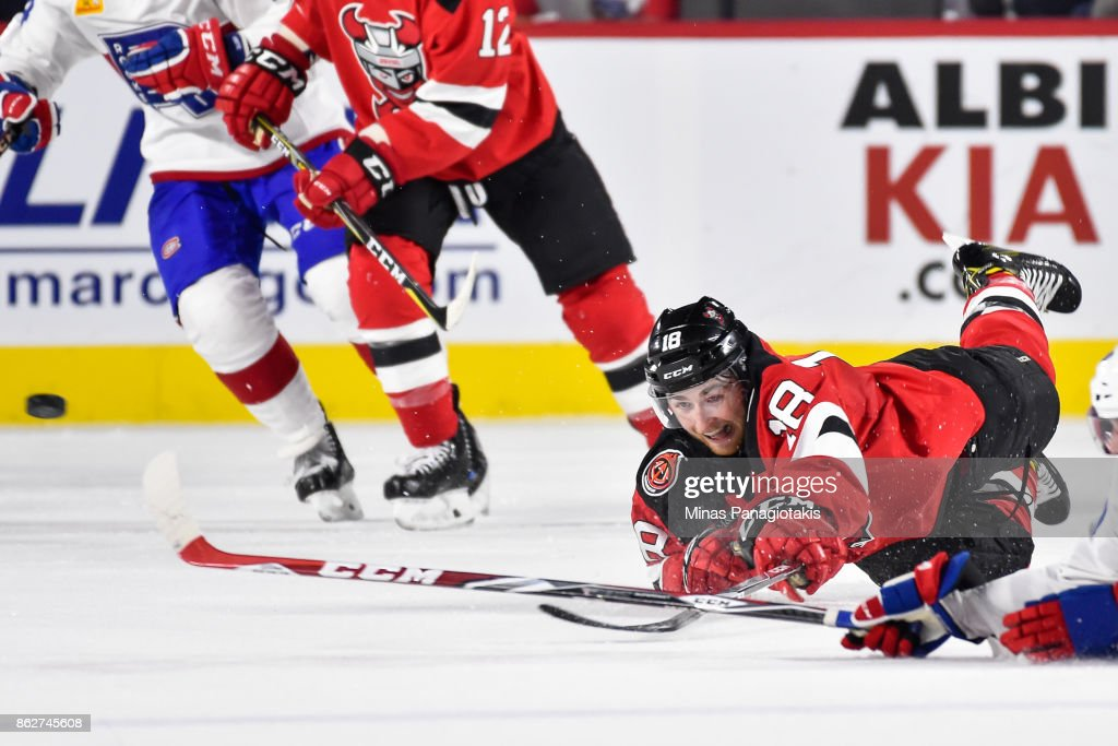 Binghamton Devils v Laval Rocket : News Photo
