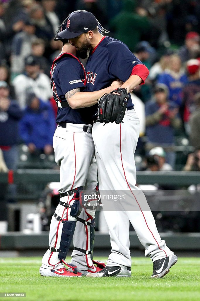 Boston Red Sox v Seattle Mariners : News Photo