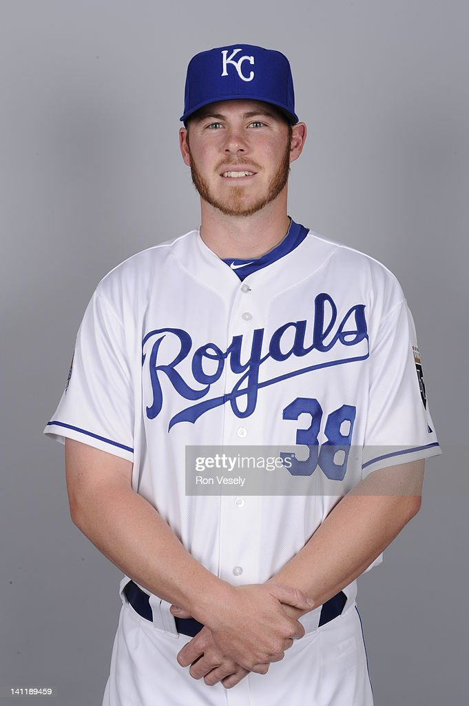 Blake Wood #38 of the Kansas City Royals poses during Photo Day on Wednesday, February 29, 2012 at Surprise Stadium in Surprise, Arizona.