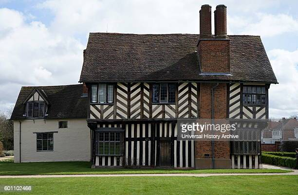 Blakesley Hall is a Tudor hall on Blakesley Road Yardley Birmingham England It dates to 1590