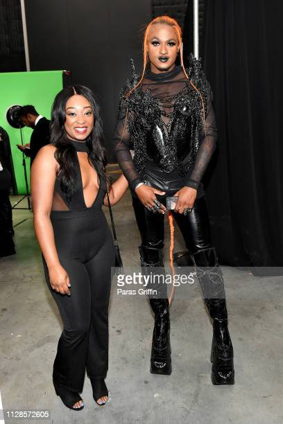 Blame It On Kway attends the 2019 BET Social Awards at Tyler Perry Studio on March 3 2019 in Atlanta Georgia