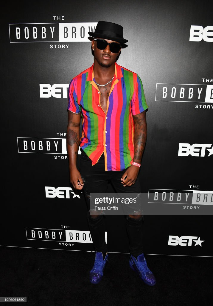 BlameItOnKWay attends The 'Bobby-Q' Atlanta Premiere Of 'The Bobby Brown Story' at Atlanta Contemporary Arts Center on September 1, 2018 in Atlanta, Georgia.