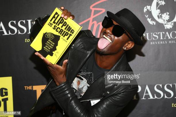BlameItOnKWay attends the Crustacean Beverly Hills Hosts AJ Gibson's Flipping The Script Book Launch And Fundraiser For The Trevor Project at...