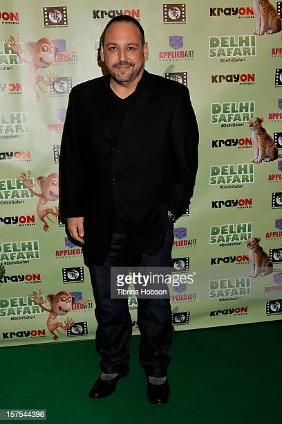 Blanc attends the Delhi Safari Los Angeles premiere at Pacific Theatre at The Grove on December 3 2012 in Los Angeles California