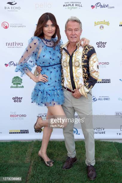 Blanca Blanco and John Savage attend a Special DriveIn Screening of KISS THE GROUND available on Netflix September 22 2020