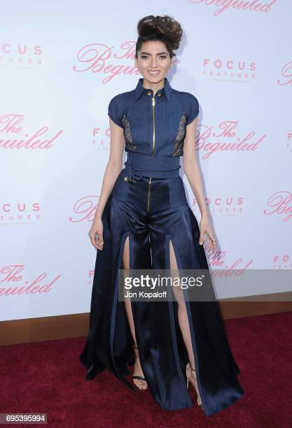 Blanca Blanco arrives at the US Premiere Of 'The Beguiled' at Directors Guild Of America on June 12 2017 in Los Angeles California