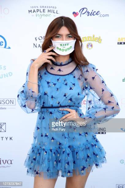 Blanca Blanco attends a Special DriveIn Screening of KISS THE GROUND available on Netflix September 22 2020