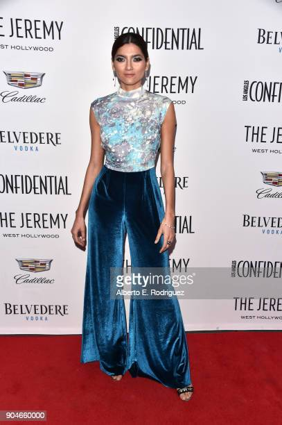 Blanca Blanco attends Los Angeles Confidential Celebrates 'Awards Issue' hosted by cover stars Alison Brie Milo Ventimiglia and Ana De Armas at The...