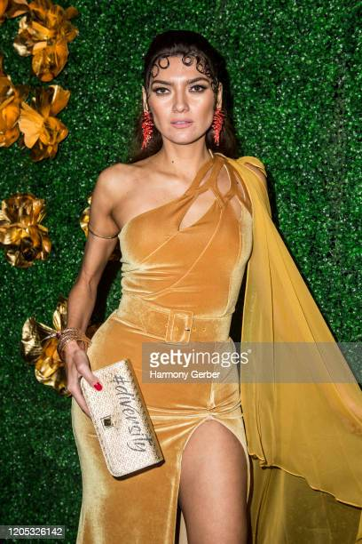 Blanca Blanco attends the 3rd Annual Griot Gala Oscars After Party 2020 Hosted By Michael K. Williams at Ocean Prime on February 09, 2020 in Beverly...