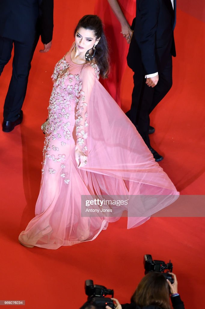 Blanca Blanco attends the screening of 'Dogman' during the 71st annual Cannes Film Festival at Palais des Festivals on May 16, 2018 in Cannes, France.