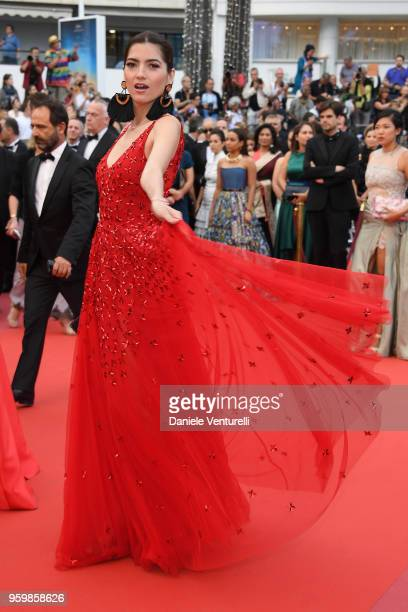 Blanca Blanco attends the screening of The Wild Pear Tree during the 71st annual Cannes Film Festival at Palais des Festivals on May 18 2018 in...