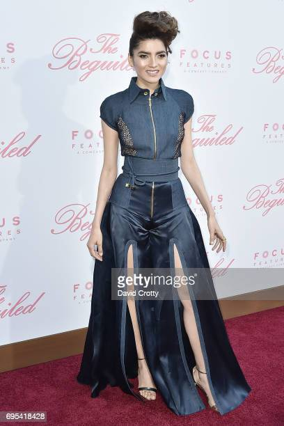 Blanca Blanco attends the US Premiere Of 'The Beguiled' Arrivals at Directors Guild Of America on June 12 2017 in Los Angeles California