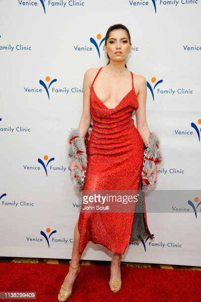 Blanca Blanco attends Venice Family Clinic Hosts 37th Annual Silver Circle Gala Honoring Ivy Kagan Bierman and Russel Tyner at Regent Beverly...