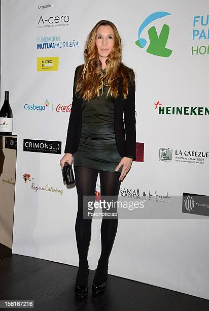 Blanca Cuesta attends architect Joaquin Torres charity cocktail at ACero In on December 10 2012 in Madrid Spain