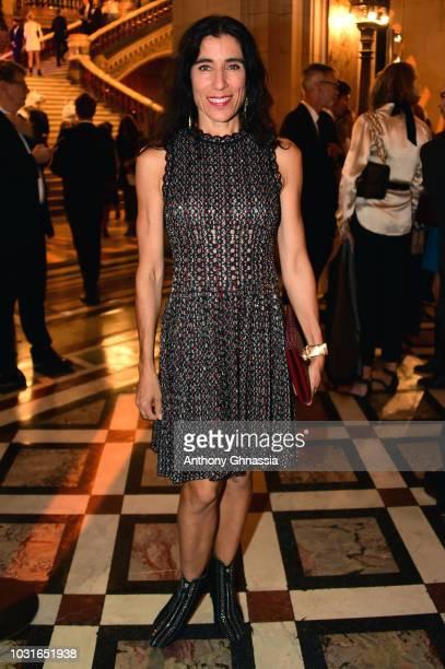 Blanca Li attends Longchamp 70th Anniversary Celebration at Opera Garnier on September 11 2018 in Paris France