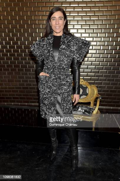 Blanca Li attends the JeanPaul Gaultier Haute Couture Spring Summer 2019 show as part of Paris Fashion Week on January 23 2019 in Paris France