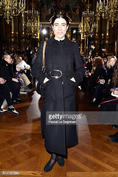 Blanca Li attends the Stella McCartney show as part of the Paris Fashion Week Womenswear Fall/Winter 2016/2017 on March 7 2016 in Paris France